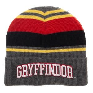 Harry Potter Gryffindor Beanie Hat - Adult